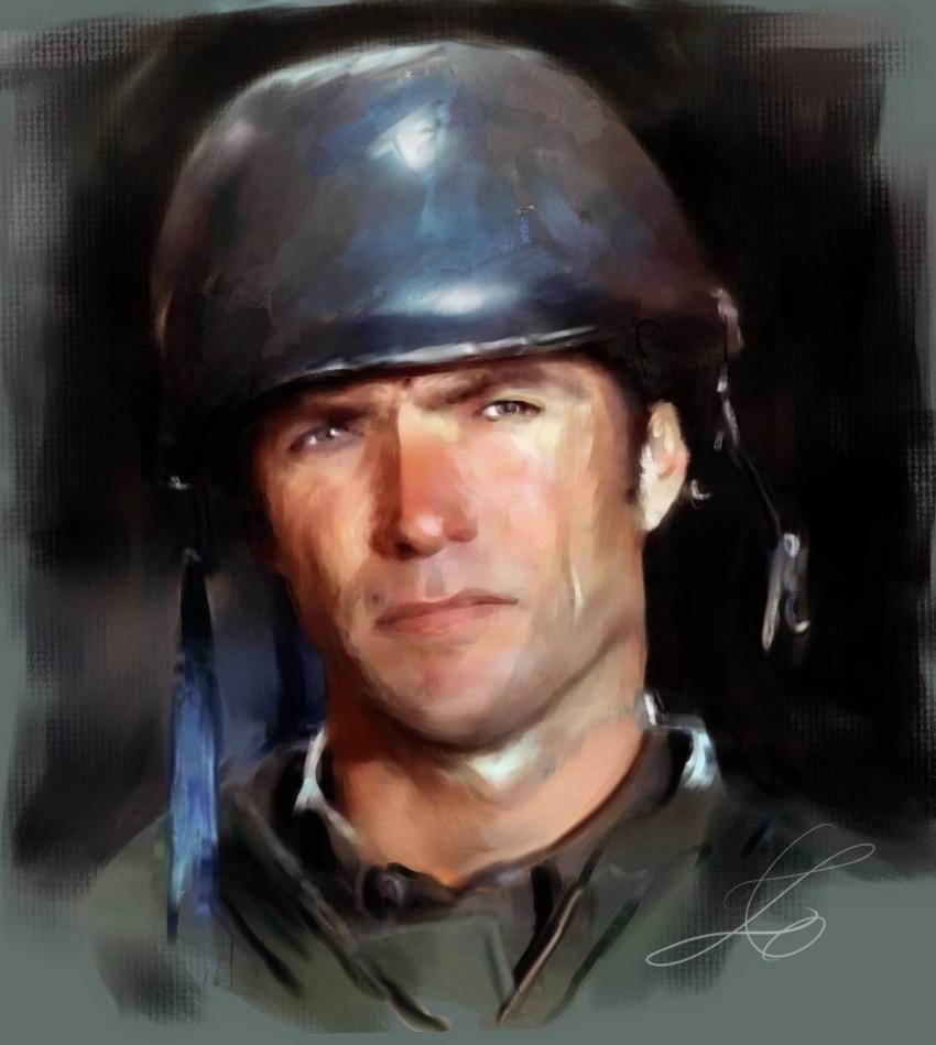 Clint Eastwood par z6ig
